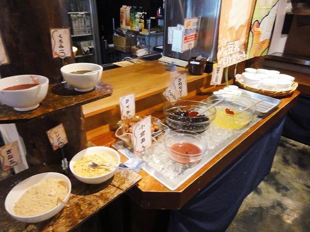 和食バイキング-豆之畑のスイートコーナー