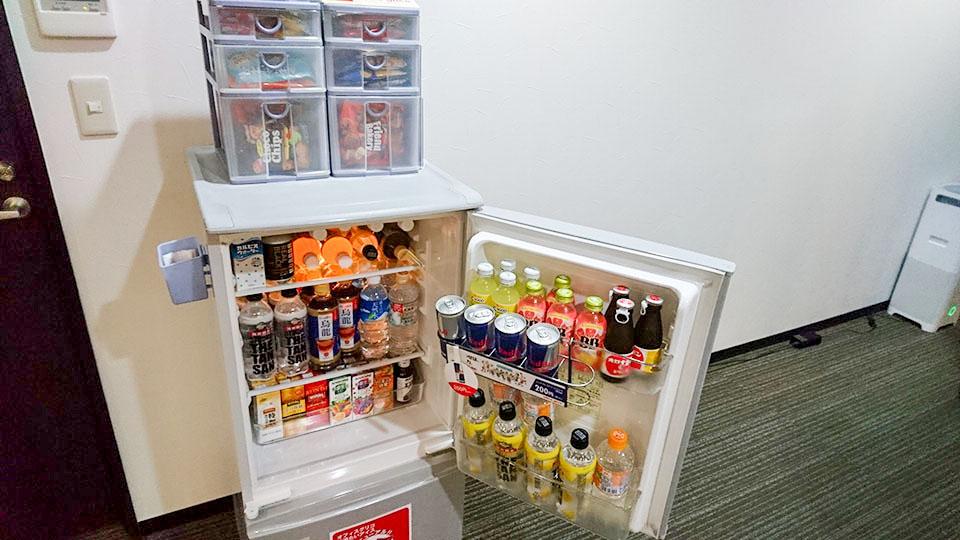 バーチャルオフィスの冷蔵庫