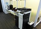 オープンオフィスに設置のFAX・コピー