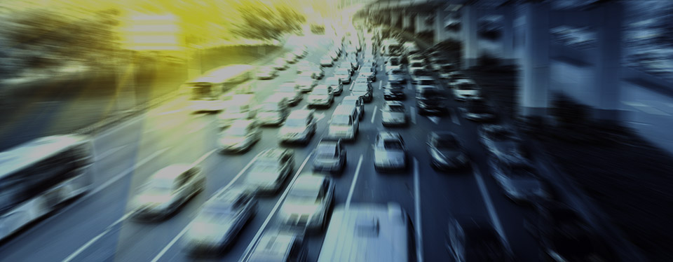 バーチャフオフィスで通勤渋滞解消