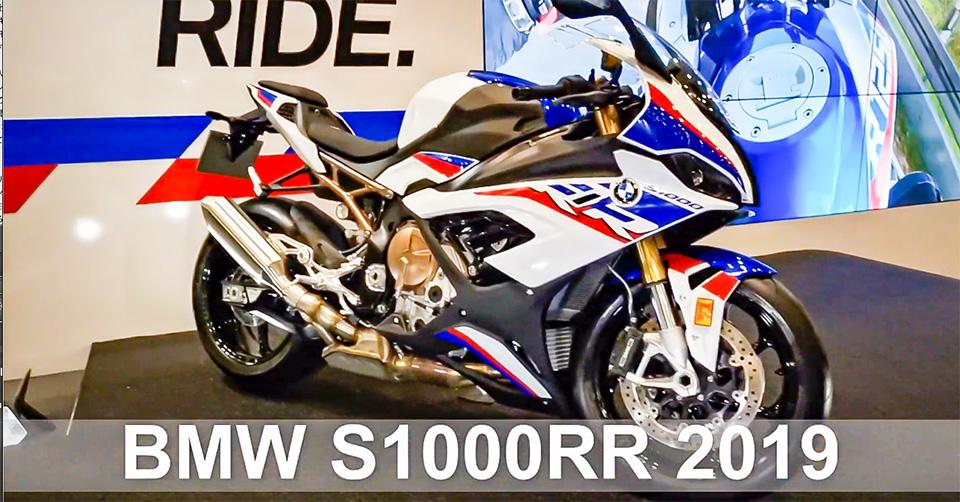東京モーターサイクルショー2019のS1000RR