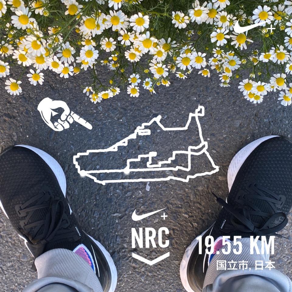 Nikeリアクト・インフィニティラン・フライニットのGPSラン